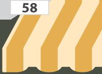 König Storenstoffe Bestellung – Volant-Wölbung 58