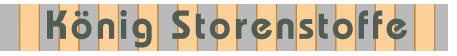 König Storenstoffe Logo