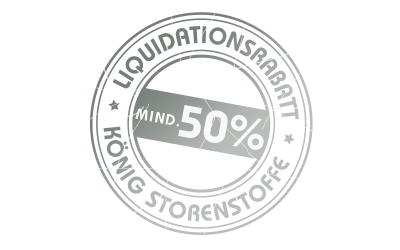 König Storenstoffe Liquidationen – Storenstoffe mindestens 50% günstiger